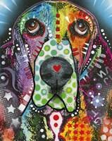 Heart-Nosed Dog Fine-Art Print