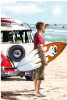 Surfer Fine-Art Print