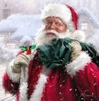 Santa Without Badge Fine-Art Print
