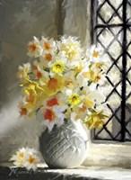 Daffodils At Window Fine-Art Print