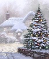 Christmas Lane Fine-Art Print