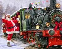 Santa Express Fine-Art Print