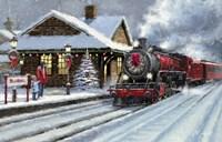 Christmas Station Fine-Art Print
