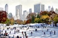 Skating In New York Fine-Art Print