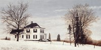 Country Manor House Fine-Art Print