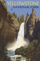 Yellowstone Tower Falls Fine-Art Print