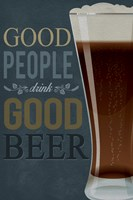 Good People Good Beer Fine-Art Print