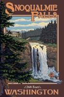 Snoqualmie Falls Washington Fine-Art Print