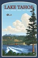 Lake Tahoe Fishing Boating Fine-Art Print