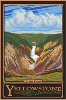 Artis Point Yellowstone Park Fine-Art Print