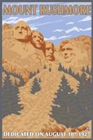 Mount Rushmore 1927 Ad Fine-Art Print