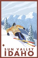 Sun Valley Idaho Ski Fine-Art Print