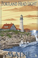 Portland Head Light Maine Fine-Art Print