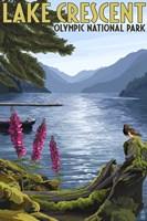 Lake Crescent Olympic Park Fine-Art Print