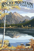 Long's Peak Rocky Mountain Fine-Art Print