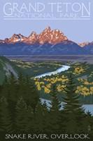Snake River Grand Teton Park Fine-Art Print