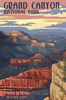 Grand Canyon Park Mather Point Fine-Art Print