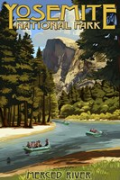 Merce River Yosemite Park Fine-Art Print