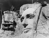 Abraham Lincoln on Mount Rushmore Fine-Art Print