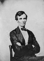 Abraham Lincoln, Candidate for U.S. President Fine-Art Print