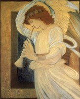 Angel With Shofar Fine-Art Print