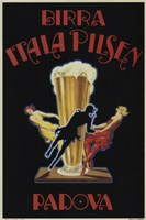 Itala Pilsen Bier Fine-Art Print