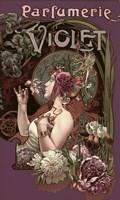 Parfumerie Violet Fine-Art Print
