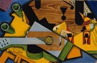 Still Life With A Guitar Fine-Art Print