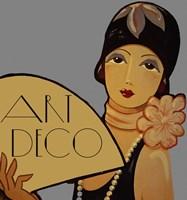 Art Deco Flapper Fine-Art Print