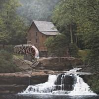 Glade Creek Mill Fine-Art Print