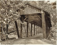 Covered Bridge Fine-Art Print