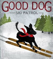 Good Dog Ski Patrol Fine-Art Print