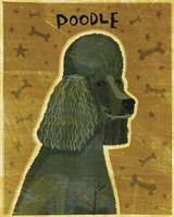 Poodle (black) Fine-Art Print