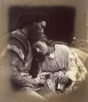 The Parting Of Lancelot And Queen Guenievre,  1874-1875 Fine-Art Print