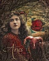 Art Nouveau Zodiac Aries Fine-Art Print