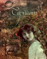 Art Nouveau Zodiac Capricorn Fine-Art Print