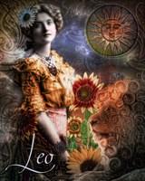 Art Nouveau Zodiac Leo Fine-Art Print