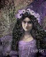 Art Nouveau Zodiac Taurus Fine-Art Print