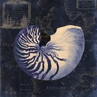 Maritime Blues V Fine-Art Print