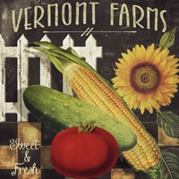 Vermont Farms VII Fine-Art Print