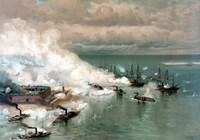 The Battle of Mobile Bay Fine-Art Print