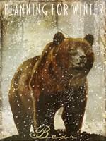 Winter Game Three Fine-Art Print