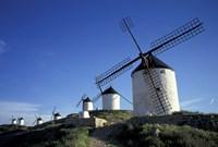 Windmills, Consuegra, La Mancha, Spain Fine-Art Print
