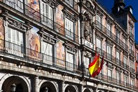 Spain, Madrid, Plaza Mayor, Building Detail Fine-Art Print
