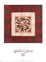 Gold & Doves II Fine-Art Print