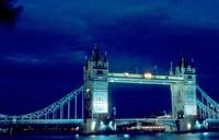 Tower Bridge Spanning the River Thames in London, England Fine-Art Print