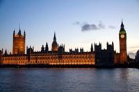 Big Ben, Houses of Parliament, London, England Fine-Art Print