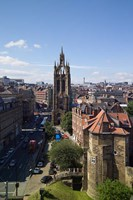 Black Gate and St Nicholas Cathedral, Newcastle on Tyne, Tyne and Wear, England Fine-Art Print