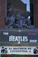 The Beatles Shop, Mathew Street, Liverpool, England Fine-Art Print