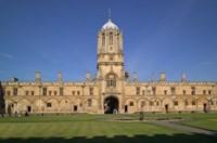 Tom Tower, Christchurch University, Oxford, England Fine-Art Print
